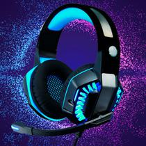 Fone Gamer Headset USB Com Led e Mic para PC Xbox - Kp-491-2