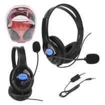 Fone Gamer Para Play 4 Xbox Celular Com Microfone XD536 Headset Ajustável - Xtrad