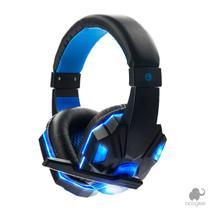 Fone Gamer Sy830mv HeadSet Com Microfone, Bass Hd E Led Azul - Booglee