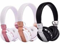 Fone Headphone Bluetooth Micro Sd Usb Sem Fio Celular  Tv Anúncio com variação - Macaron P33