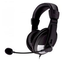 Fone headphone com microfone headset super bass cd 750mv - Zem