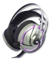 Fone Headphone De Ouvido Gamer Para Jogo Pc  C/ Led P2 Usb - Kp-434