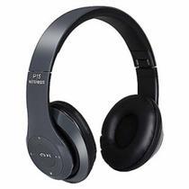 Fone Headphone De Ouvido Preto P15 Bluetooth Wireless -