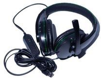 Fone Headphone Gamer Entrada Usb C/ Microfone Com Led - Maximidia