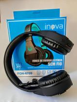 Fone Headphone S/fio Bluetooth C/microfone Inova Blackfriday -