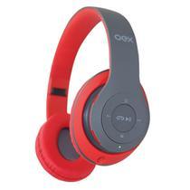 Fone Headset Bluetooth Loud Dobrável Vermelho Hs304 Oex -