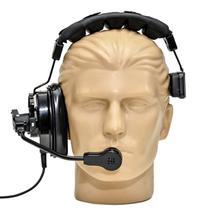 Fone Headset com microfone cardioide para sistema de intercom  MGA Pro Audio  HS-2 -