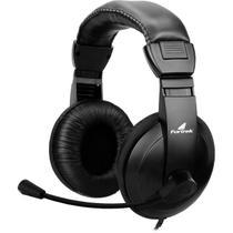 Fone Headset Com Microfone Multimídia HSL-102 Preto Fortrek -