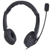 Fone Headset Corp USB Com Microfone - Preto - VK390 - Vinik -