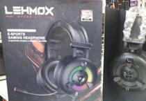 Fone Headset E-sport Gaming 3.5mm Alto Falante Magnético - Lehmox