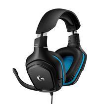 Fone headset gamer 7.1 g432 usb  logitech g -