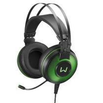 Fone Headset Gamer 7.1 USB com Led Verde Warrior Raiko - PH2 - Multilaser -