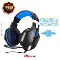 Fone Headset Gamer Extreme Ej-902 Cyber - Cor Azul -