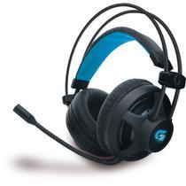 Fone Headset Gamer FORTREK Pro H2 Com Microfone Cabo Trançado 2 Metros Para Computador Notebook Pret -