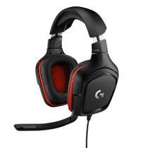 Fone headset gamer g332 pc/ps4/xbox 981-000755  logitech g -