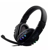 Fone Headset Gamer Notebook Usb Led Pc Ps3 Ps4  Boas Bq9700 -