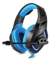 Fone Headset Gamer para PC Celular e Videogame K1-B Azul - Onikuma