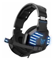 Fone Headset Gamer para PC Celular e Videogame K17 Azul - Onikuma -