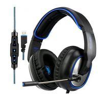 Fone Headset Gamer USB SADES R7 Sound 7.1 -