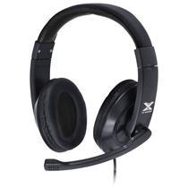 Fone Headset Gamer VX Gaming V Blade II USB com Microfone Retratil e Ajuste de Haste Preto - GH204 - Vinik