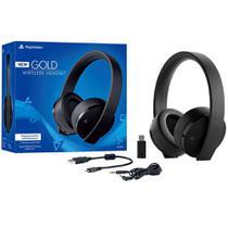 Fone Headset Gamer - Wireless - Edição Ouro - 7.1 - PS4 - Sony -