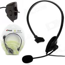 Fone Headset Headphone Com Microfone Para Xbox 360 Slim -live - Gamer Pro - X-360