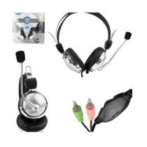 Fone Headset Lehmox Ley-301 com Microfone -