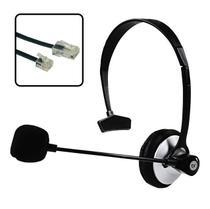 Fone Headset Office Com Plug de Telefone e Microfone Bright -