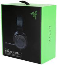 Fone Headset Razer Kraken PRO V2 Oval Preto - PS4 / Xbox One -