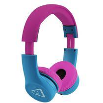 Fone Headset Safe Kids Az/rosa Melody - Elg* -