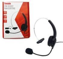 Fone Headset Telefone Fixo Fio mt 1011 - Tomate -