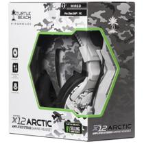 Fone Headset Turtle Beach X12 Arctic Estéreo Xbox 360 e Pc