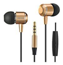 Fone In-ear  Jwcom V3 Com Microfone Grave Estendido -