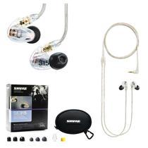 Fone In Ear Shure Se-315 Cl Original Monitor Retorno De Palco -