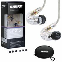 Fone In Ear Shure Se215 Original Monitor Retorno De Palco -