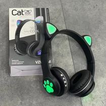 Fone Orelha De Gato Headphone Gatinho Com Led Fone Bluetooth Anúncio com variação - CAT EAR