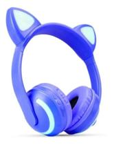 Fone Orelha-gatinho Bluetooth Led 7 Cores - R - DACAR
