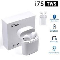 Fone Ouvido Bluetooth I7s 4.2 Par Tws Sem Fio Case Base -
