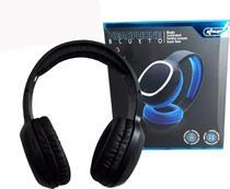 Fone Ouvido Bluetooth Mp3 Sem Fio Cartão Micro Sd Fm Headphone Preto - Knup