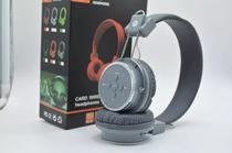 Fone Ouvido Bluetooth Sem Fio Chamada Micro Sd Fm Mp3 B05 Cinza - Wg