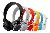 Fone Ouvido Bluetooth Sem Fio Chamada Micro Sd Fm P2 Mp3 Cel - B05 -