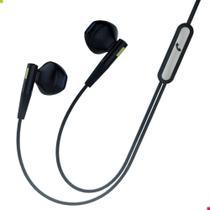 Fone Ouvido Com Fio Atende Ligação Preto Celular Lg In-Ear - Hi-Turbo
