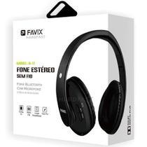 Fone Ouvido Favix B17 Bluetooth 4.0 Sem Fio Fm Cartão Mega Bass Spotify Universal -
