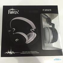 Fone Ouvido Favix F2023 Preto Com Microfone Power Top -