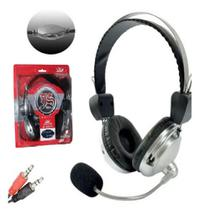 Fone ouvido gamer com microfone controle de volume headset plugging pc - GIMP