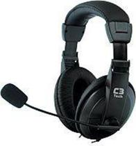 Fone Ouvido Headset C3TECH Notebook PC SKYPE Microfone e Gamer - C3 Tech -