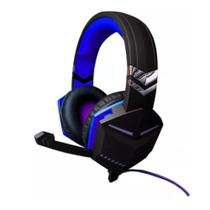 Fone Ouvido Headset Feir Gamer Pc Note Ps3 Xbox FR-510 Usb Azul