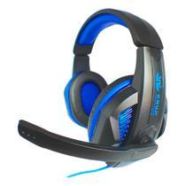 Fone Ouvido Headset Gamer Microfone Led P2 Usb + Adaptador - Kp-396