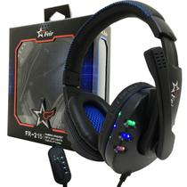 Fone Ouvido Headset Gamer Pc Playstation Ps4 Ps3 Jogo E Chat - Feir