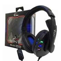 Fone Ouvido Headset Gamer Usb Pc Microfone Ps3 Xbox Notebook Feir 215